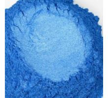 Голубой, пигмент (мика) перламутровый сухой