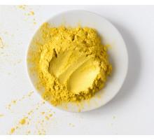 Жёлтый, пигмент (мика) перламутровый сухой арт.982