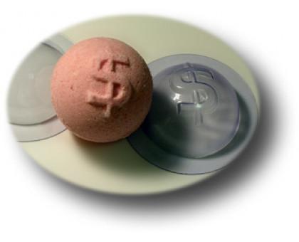 Форма для бомбочек для ванной Сфера Доллар