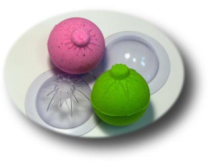 Форма для бомбочек для ванной Сфера Новогодняя