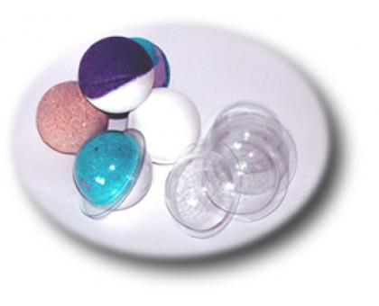 Сфера малая (d 50), форма для мыла (бомбочек) пластиковая